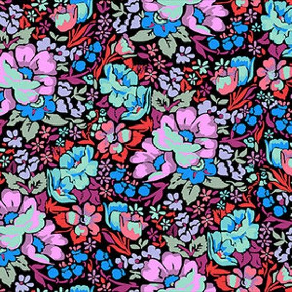 Floral Retrospective by Anna Horner for Free Spirit Fabrics - Overachiever in Velvet