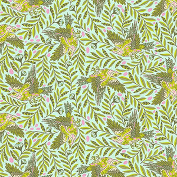 Fat Quarter Re Tweet in Star Light - Tula Pink's Spirit Animal