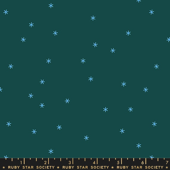 Social and Spark -- Spark in Pine (RS000517) by Ruby Star Society for Moda -- Fat Quarter