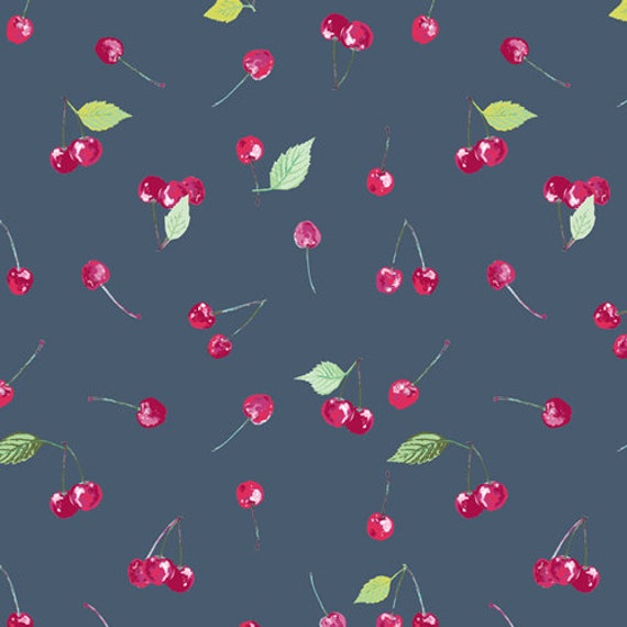 Floralish by Katarina Roccella for Art Gallery Fabrics -  Cherry Picking - Fat Quarter