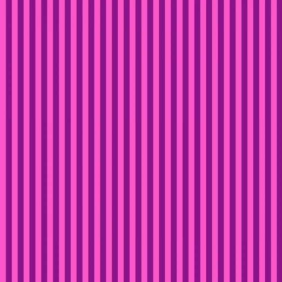 Fat Quarter Tent Stripe in Foxglove  - Tula Pink's All Stars Fabric for Free Spirit Fabrics