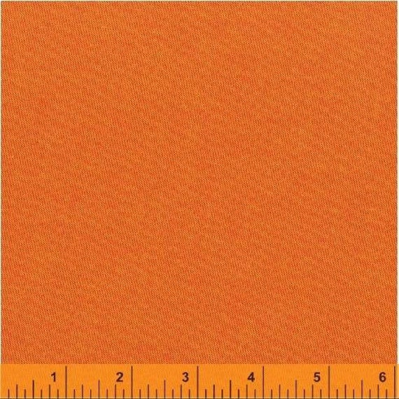 Fat Quarter - Heather Ross Kinder Coordinate - Artisan Cotton - Red/Yellow - Another Point of View for Windham - 40171-7