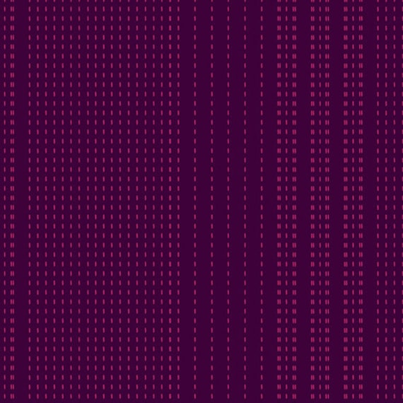 Entwine by Guicy Guice for Andover Fabrics - Fat Quarter of Sashiko in Amethyst