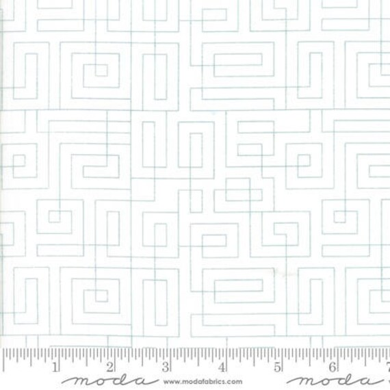 Moda Thrive Composed in Off White Hang Up (1090625) by Natalia and Kathleen -- Fat Quarter