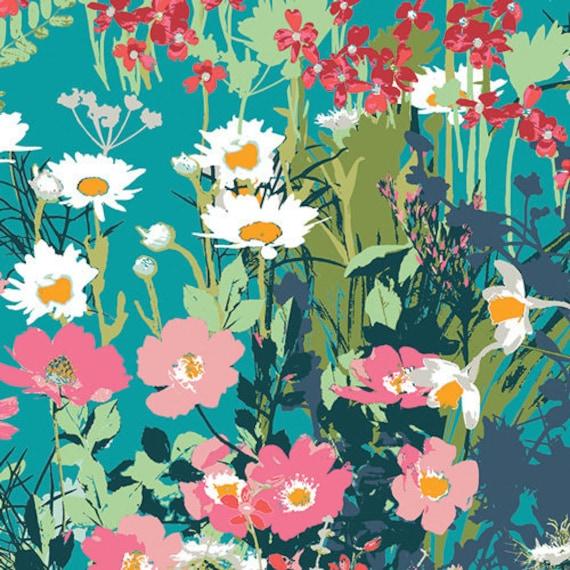 Lavish by Katarina Roccella for Art Gallery Fabrics - Mother's Garden in Rich - Fat Quarter