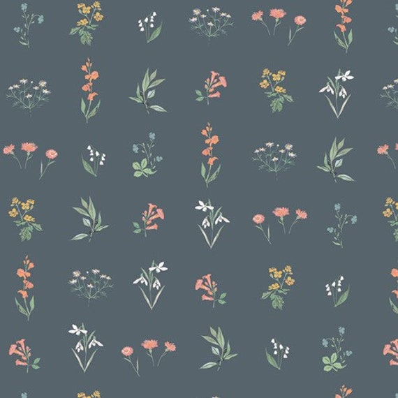 Picturesque by Katarina Rocella for Art Gallery Studio-  Fat Quarter of Botanical Study Soft
