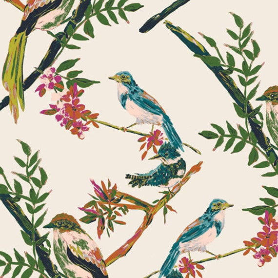 Bloomsbury by Bari J for Art Gallery Fabrics -  Fat Quarter of Day Chatter