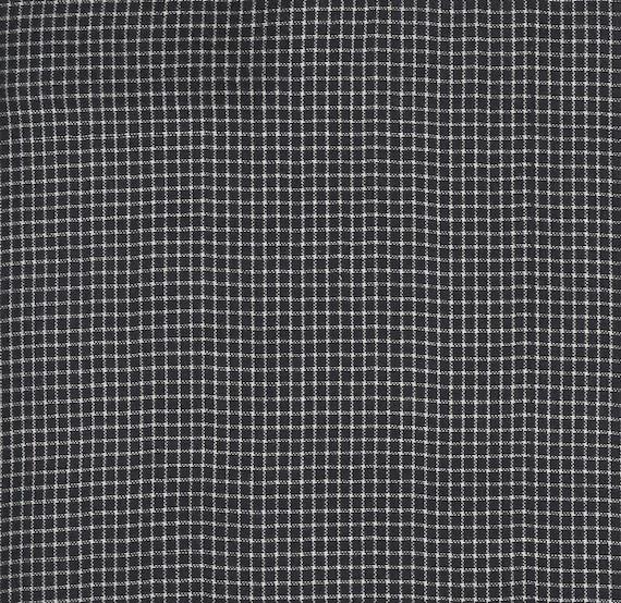 Moda Low Volume Wovens Charcoal Checks by Jen Kingwell -- Fat Quarter