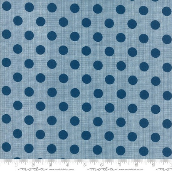 Moda Beach Road Circulus in Prussian Blue (1813134) by Jen Kingwell -- Fat Quarter