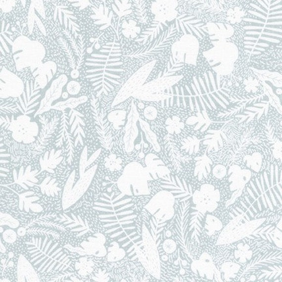 Robert Kaufman - AIL-19560-398 DOLPHIN by Hello!Lucky from Wild and Free - Fat Quarter