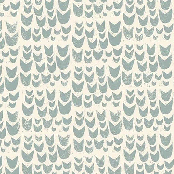 Home by Sarah Golden for Andover Fabrics - Fat Quarter of Tulips in Gris -- Cotton