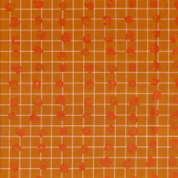 Carkai by Carolyn Friedlander  - Grid Bits in Gold - Fat Quarter