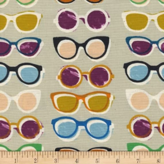 Poolside -  Shades in Natural by Melody Miller for Cotton and Steel