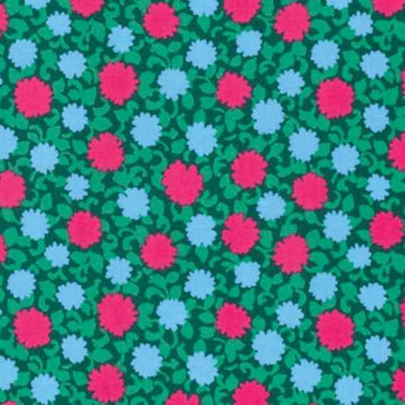Amy Butler Splendor -- Fat Quarter of Simply Bold Floral in Pine