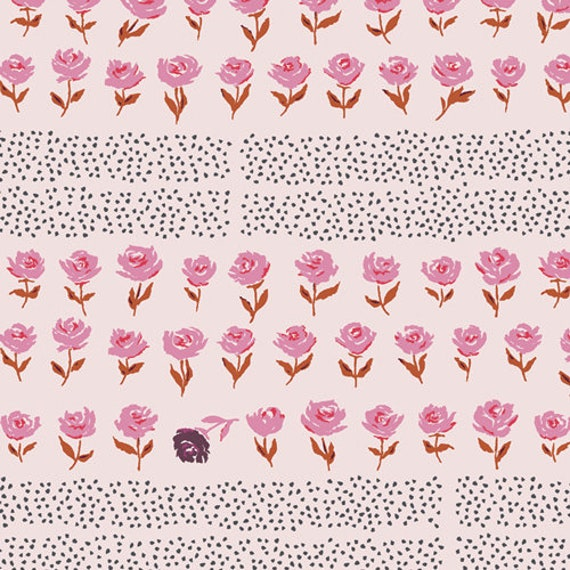Mayfair by Amy Sinibaldi for Art Gallery Studio-  Fat Quarter of Hyde Park Blush