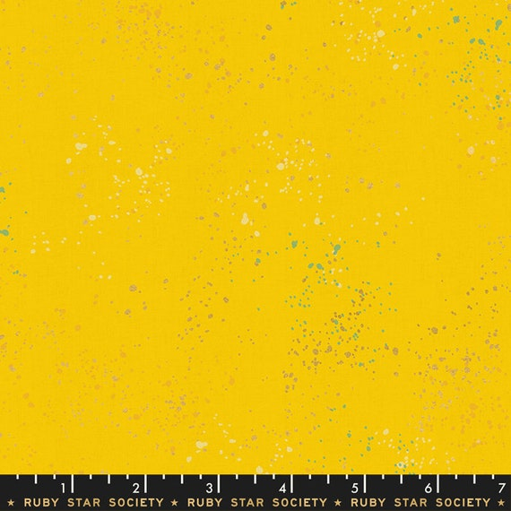 Speckled -- Metallic Sunshine (RS5027-71M) by Ruby Star Society for Moda -- Fat Quarter