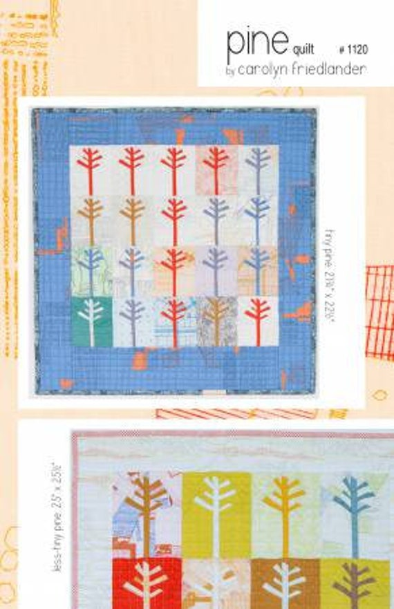 Pine Quilt - Pattern by Carolyn Friedlander