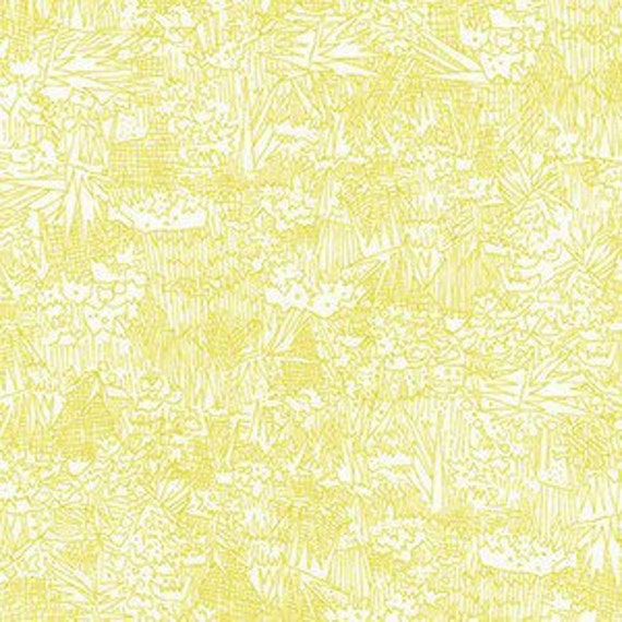 In Stock!  Friedlander by Carolyn Friedlander - Fat Quarter- Green Wall Lawn in Wasabi