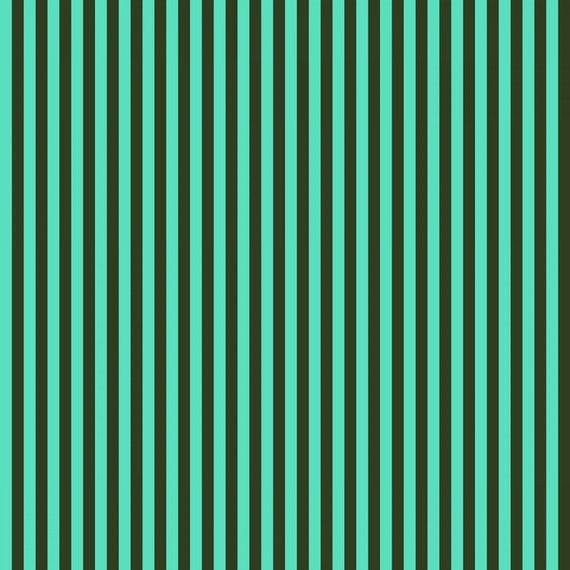 Fat Quarter Tent Stripe in Fern - Tula Pink's All Stars Fabric for Free Spirit Fabrics