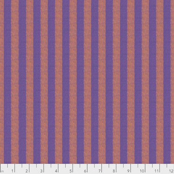 Kaffe Fassett Shot Cotton Stripes -  Fat Quarter of Plaster in Narrow Shot Cotton Stripe