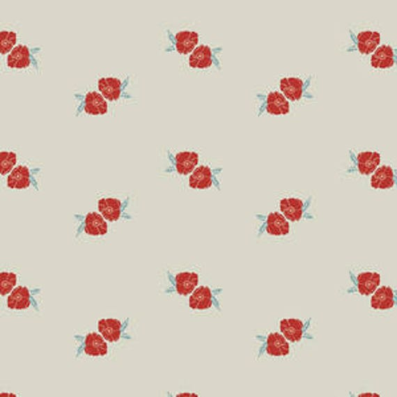 Love Story by Maureen Cracknell for Art Gallery Fabrics - Flower Stamp in Charm