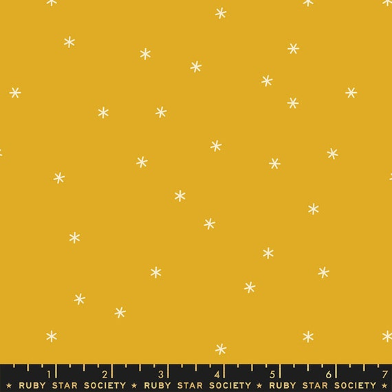 Spark in Goldenrod (RS000545) by Ruby Star Society for Moda (Clementine Collection) -- Fat Quarter