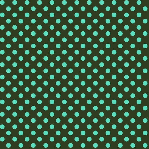 Fat Quarter Pom Poms in Fern  - Tula Pink's All Stars Fabric for Free Spirit Fabrics