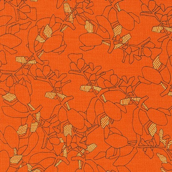 Collection CF by Carolyn Friedlander - Fat Quarter - AFRM-19928-380 ORANGEADE