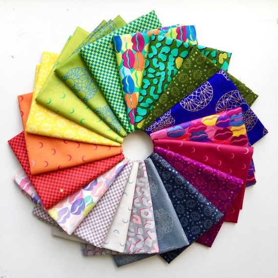 Wild Side by Libs Elliot for Andover Fabrics -  Fat Quarter Bundle of 19