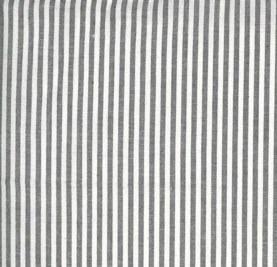 Moda Low Volume Wovens Silver Stripe by Jen Kingwell -- Fat Quarter