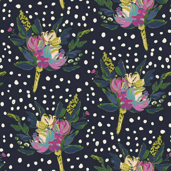 Bloomsbury by Bari J for Art Gallery Fabrics -  Fat Quarter of West End Blooms