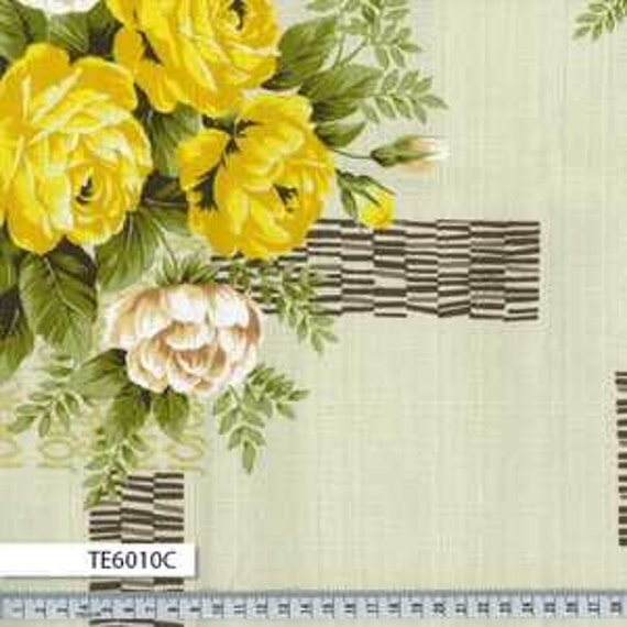 Outback Wife by Gertrude Made for Ella Blue -- 1/2 metre Kirstine in yellow