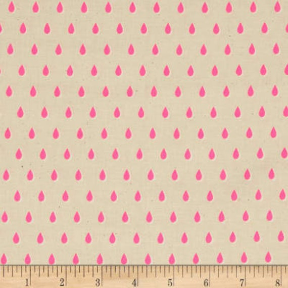 Beauty Shop -- Drops in Pink by Melody Miller and Sarah Watts for Cotton and Steel
