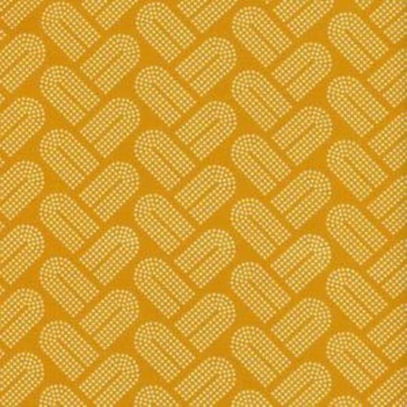 Fat Quarter Macrame Braidy in Mango by Rashida Coleman-Hale for Cotton and Steel