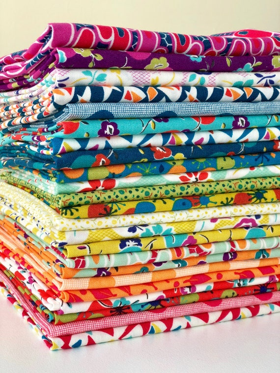 Beach Road by Jen Kingwell for Moda Fabrics - Fat Quarter Bundle of 23