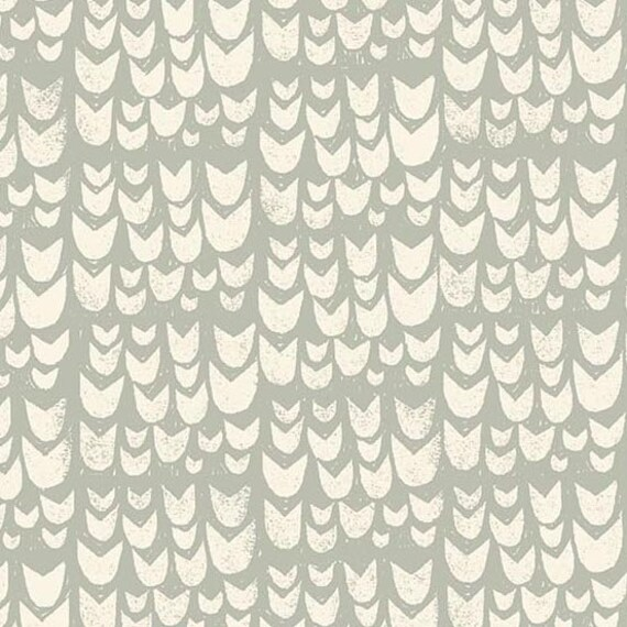 Home by Sarah Golden for Andover Fabrics - Fat Quarter of Tulips in Taupe -- Cotton