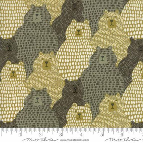 Moda Big Sky Grizzly Tan (1670123) by Annie Brady -- Fat Quarter