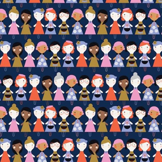 Dashwood Studio Amelie (AMEL1430)  - Cotton Fabric - Fat Quarter