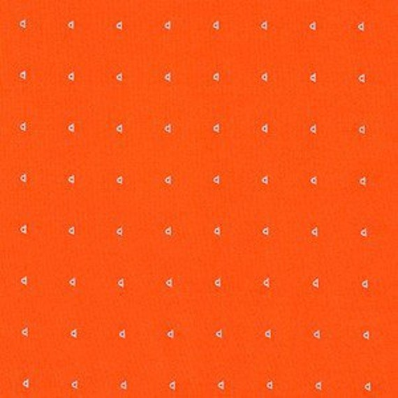 In Stock! Friedlander by Carolyn Friedlander - Fat Quarter- Shirting Lawn in Tangerine