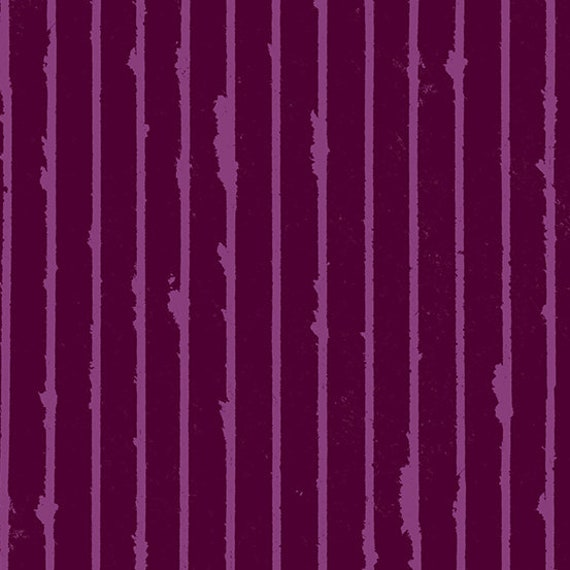 Prism by Guicy Guice for Andover Fabrics - Fat Quarter of Striped in Mulled Wine