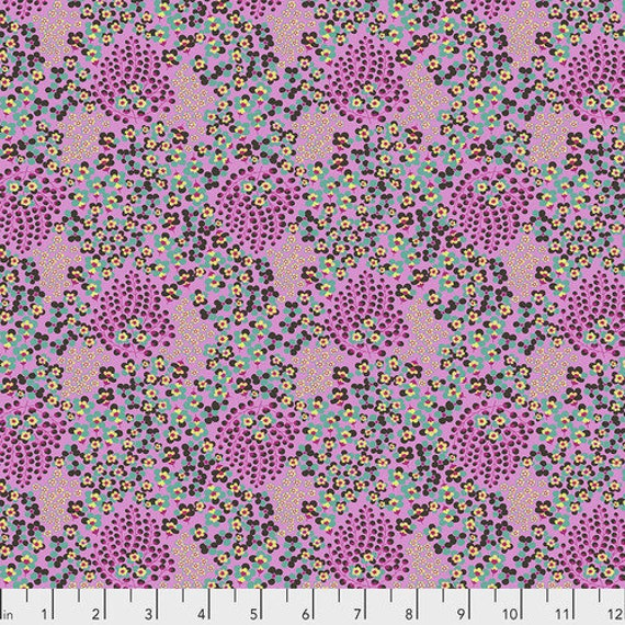 Amy Butler Natural Beauty -- Fat Quarter of Abundance in Berry