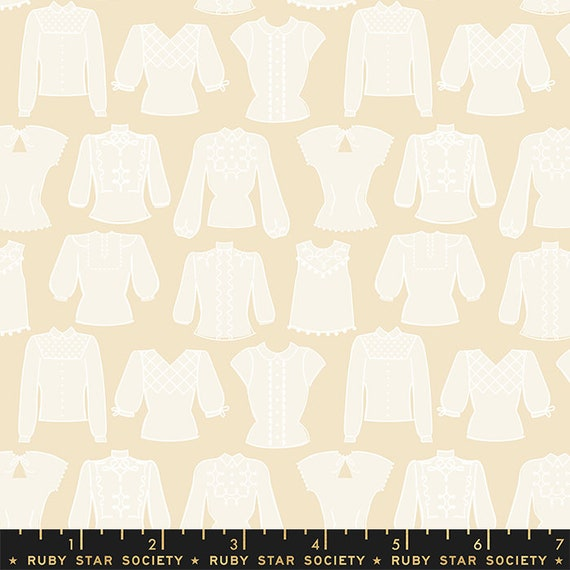 First Light Blouses in Parchment  (RS050-11) by Ruby Star Society for Moda -- Fat Quarter