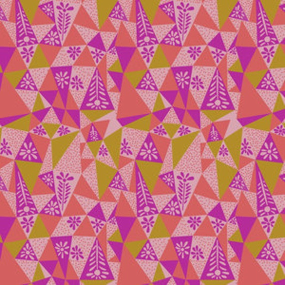 Sweet Dreams by Anna Horner for Free Spirit Fabrics - Garden Prism in Candy