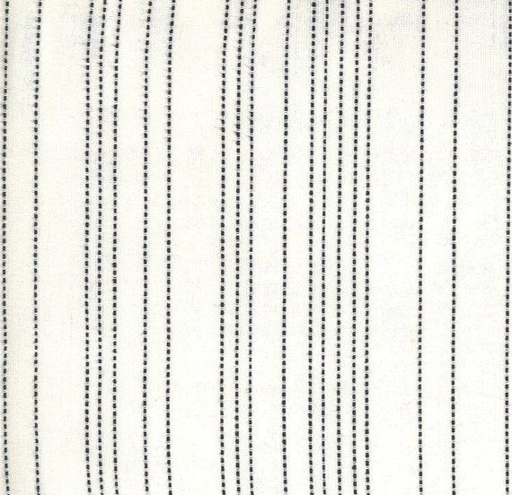 Moda Low Volume Wovens Stripe Ivory by Jen Kingwell -- Fat Quarter