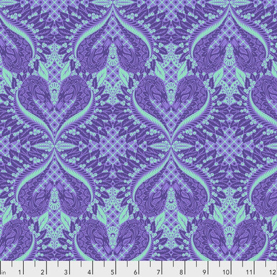 Fat Quarter Gate Keeper in Daydream - Tula Pink's Pinkerville for Free Spirit Fabrics