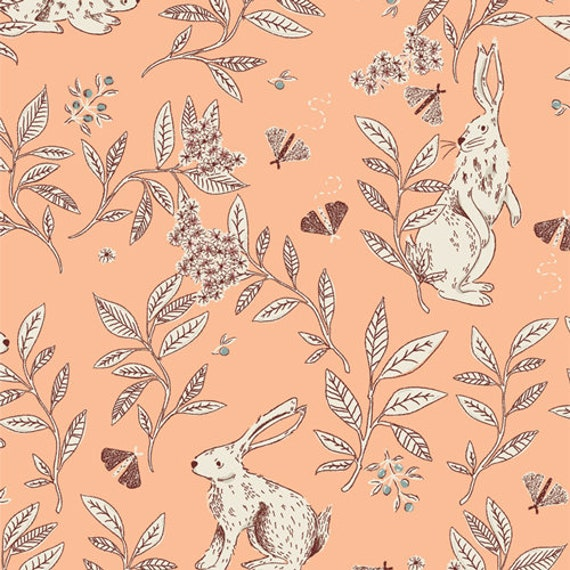 Meriwether by AGF Studio-  Fat Quarter of Cottontail Playful