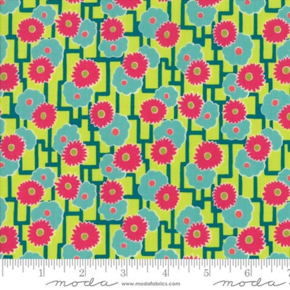 Moda Remix Azalea in Lounge Lizard (1815817) by Jen Kingwell -- Fat Quarter