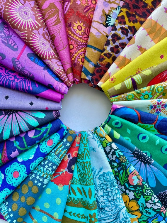 Fat Quarter Bundle of Various Anna Maria Horner Fabrics -- 24 in total