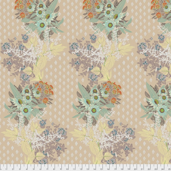 One Mile Radiant by Anna Maria Horner for Conservatory Chapter 3 with Free Spirit Fabrics- Fat Quarter of Front Walk in Anitque
