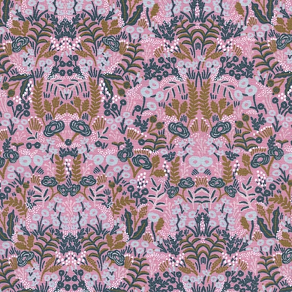 Menagerie -- Tapestry in Violet by Rifle Paper Company for Cotton and Steel